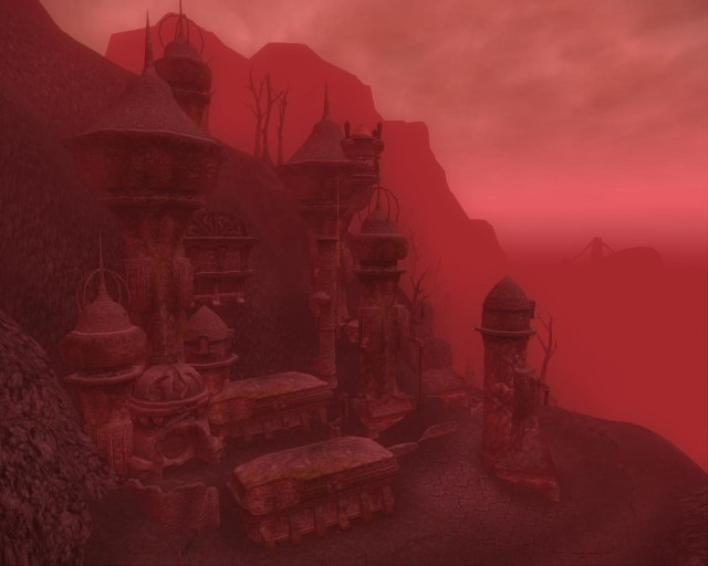 Morrowind, the Home of the Dark Elves